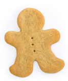 Blank gingerbread man Stock Image