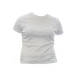 Blank girl t shirt Stock Images