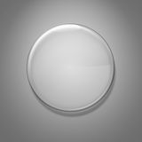 Blank glass badge Royalty Free Stock Images