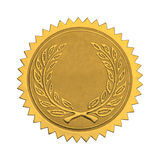 Blank Gold Honor Seal Stock Images