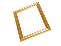 Free Blank Gold Picture Frame Stock Images - 5236014