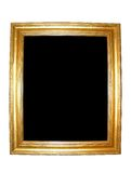 Blank Gold Picture Frame Stock Photos