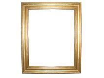 Free Blank Gold Picture Frame Stock Images - 5236374