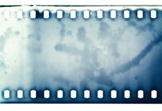 Film texture. Blank grained film strip texture Stock Image