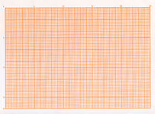 Blank graph paper Royalty Free Stock Photo