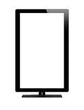 Blank graphic computer monitor with clipping path for the screen Stock Photos