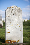 Blank Grave Stone Royalty Free Stock Photo