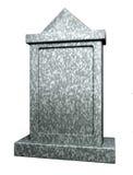 Blank gravestone Stock Images