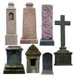 Blank gravestone Stock Photography