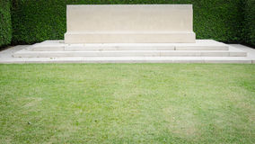 The blank great headstone Stock Photography