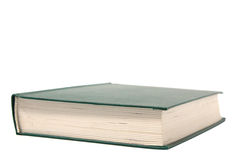 Blank green book Stock Images