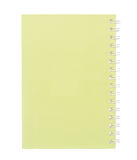 Blank green book with cover isolated on white. Background Stock Images