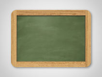 Blank green chalkboard. Background and texture. Royalty Free Stock Photography