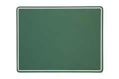 Blank green chalkboard Stock Photography