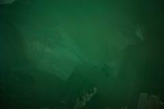 Blank green chalkboard Stock Photography