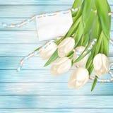 Blank greeting card. EPS 10 Stock Image