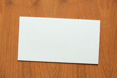 Blank greeting card Royalty Free Stock Photography