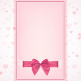Blank greeting card template. Royalty Free Stock Images