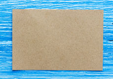 Blank greeting card Stock Photo