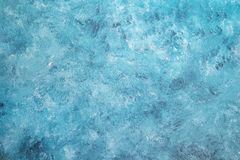Blank grunge concrete wall blue sea color stock photography