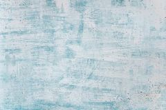 Blank grunge concrete wall blue sea color stock images