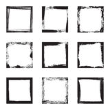 Blank grunge frames Royalty Free Stock Photography