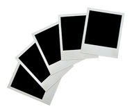 Blank grunge photo. Frame ready to be populated with any image Royalty Free Stock Image