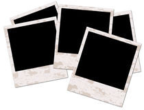 Blank grunge photo frame Stock Image
