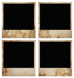 Blank grunge photo frame ready to be populated with any image Royalty Free Stock Image