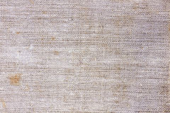 Blank grungy dirty Canvas Background Stock Image