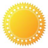 Blank guarantee certificate Stock Photos