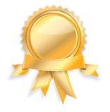 Blank guarantee certificate Royalty Free Stock Photos