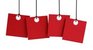 Blank Hang Tags Stock Image