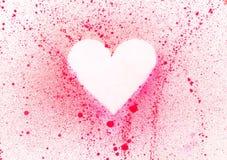Blank heart. An illustration of an heart Royalty Free Stock Photos