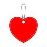 Blank Heart bargain icon Stock Photography