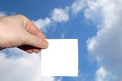 blank holding för affär 2 royaltyfri bild
