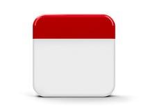 Blank icon calendar Royalty Free Stock Photo