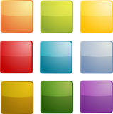 Blank icons Stock Photography