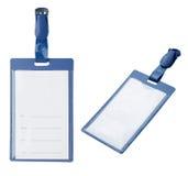 blank ID badge Royalty Free Stock Photos