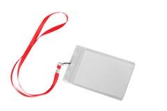 Blank ID card / badge