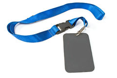 Blank ID card tag Royalty Free Stock Photos