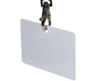 Blank ID Tag Royalty Free Stock Photo
