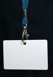 Blank ID Tag Royalty Free Stock Photography