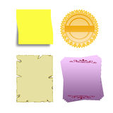 Blank illustration Royalty Free Stock Photo