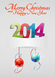 2014 blank. Illustration of 2014 text with space blank Stock Illustration