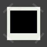 Blank instant photo Stock Photos