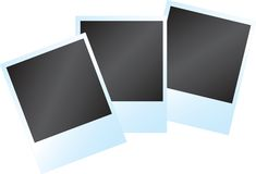 Blank instant Photo frame Royalty Free Stock Photography