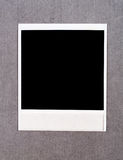 Blank instant photo frame Stock Photo