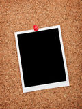 Blank instant photo frame Stock Photos