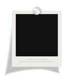 Blank instant photo frame Royalty Free Stock Photo